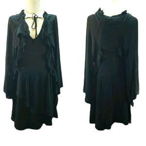 IRO NWT Womens Black Salena Dress Size 40